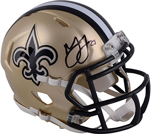 Marshon Lattimore New Orleans Saints Autographed Riddell Speed Mini Helmet - Fanatics Authentic Certified