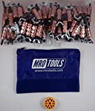 100 1/4 Standard Wing-Nut Cleco Fasteners w HBHT Tool & Carry Bag (KWN1S100-1/4)