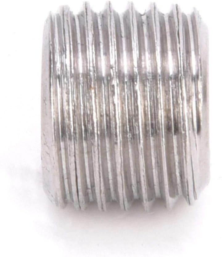 """1//8/"""" Male Thread BSPP 10pcs Stainless Steel 304 Hex Thread Socket Pipe Plug Socket Hex Head Plug"""
