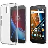 SPARIN [2 Pack] Motorola Moto G 4th Generation Case & Moto G Plus 4th Generation Case, Clear Phone Case for Moto G4 / Moto G4 Plus, Precise Designed Soft Crystal Transparent Case, Lifetime Warranty