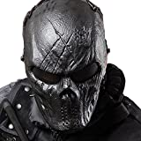 Coxeer Tactical Airsoft Mask Overhead Skull Mask Outdoor Hunting Cs War Game Mask