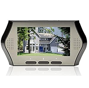 BW 4.3 Inch LCD Digital Peephole Door Camera Viewer Smart Monitor with Motion Detect Door Video Intercom night vision Doorbell for Home Security?When you ...  sc 1 st  Amazon UK & BW 4.3 Inch LCD Digital Peephole Door Camera Viewer: Amazon.co.uk ... pezcame.com