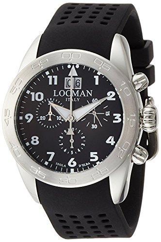 LOCMAN watch ISOLA D'ELBA 0460A01-00BKWHSK Men's