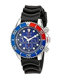 Seiko Men's SSC031 Blue Dial Watch