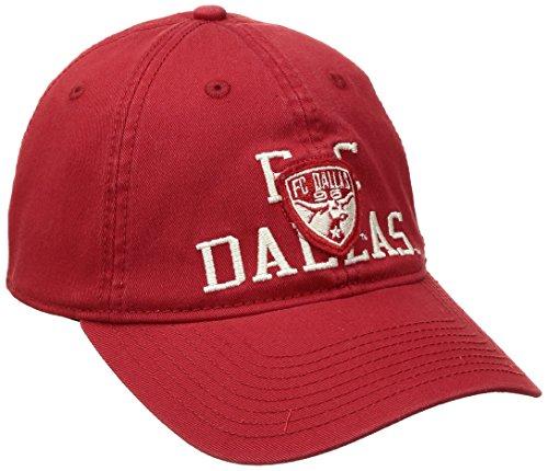 MLS FC Dallas Adult Men MLS SP17 Fan Wear Throwback Slouch Flex,S/M,Red