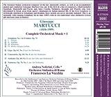 Martucci: Symphony No. 1 - Notturno; Andante; Canzonetta; Giga