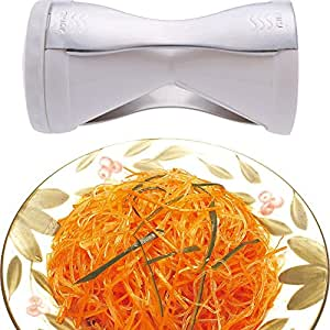 Kitchen Accessories Creative Spiral Vegetable Cutter Veggetti Vegetable and Fruit Slicer Twister for Spaghetti Pasta.