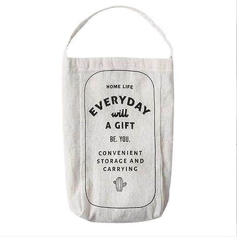 Argonv Soporte de plástico para bolsas y dispensador de ...
