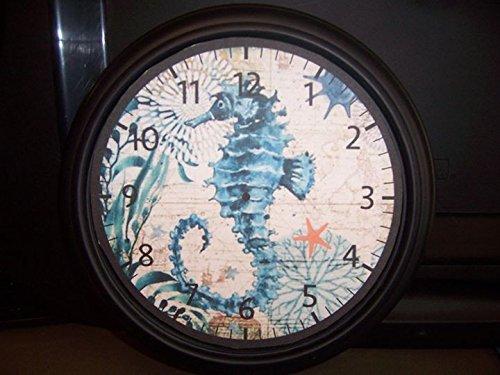 (Seahorse Wall Clock-9