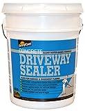 SunnyDry D201 Clear Sunny Coat Driveway Sealer, 5 gal Pail