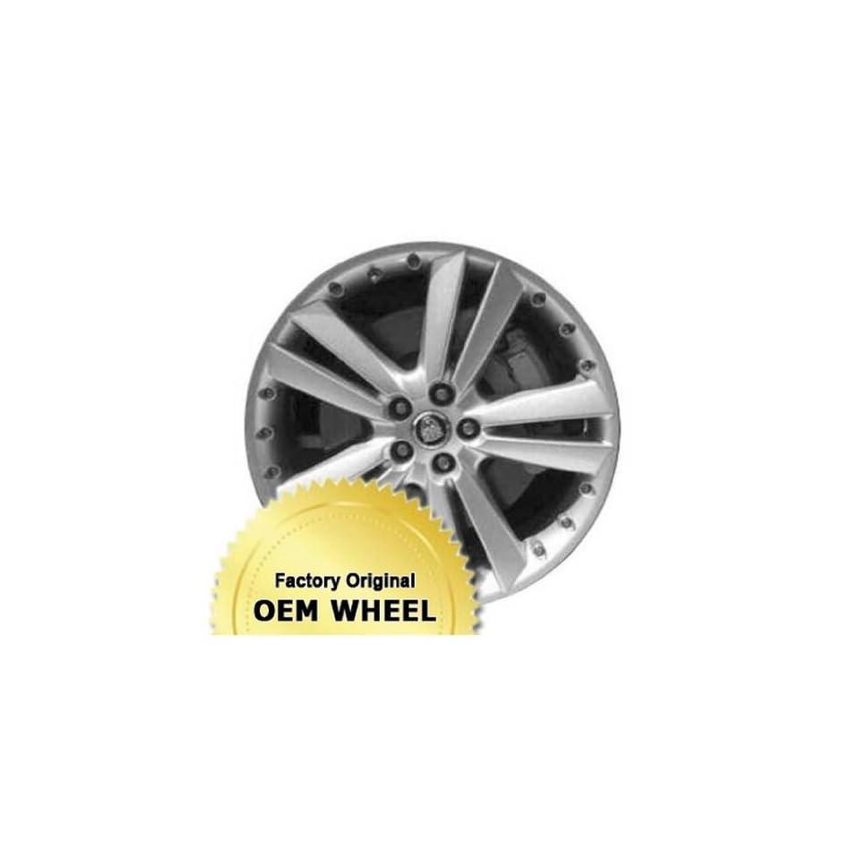 JAGUAR XK 20X8.5 5 TWIN SPOKES Factory Oem Wheel Rim  SILVER   Remanufactured Automotive