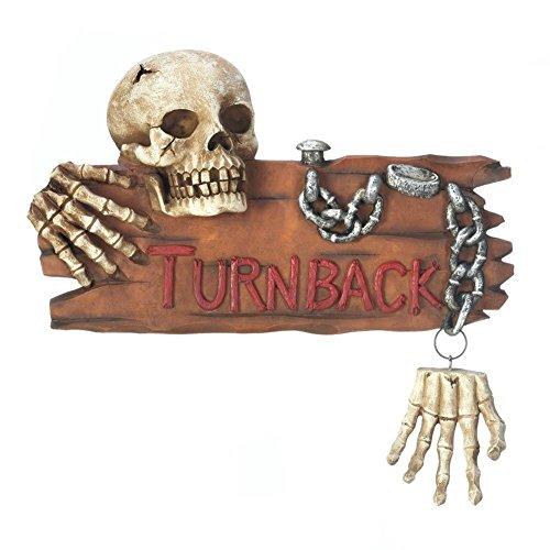 Fennco Styles Halloween Decorative Skeleton Door Knocker (Spooky Dinner Ideas For Halloween)