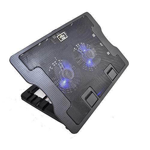 (Best Laptop Cooling Pad Laptop Coolpad Cooling Fan Adjustable Cooling Stand Laptop Pad Holder Cooler)