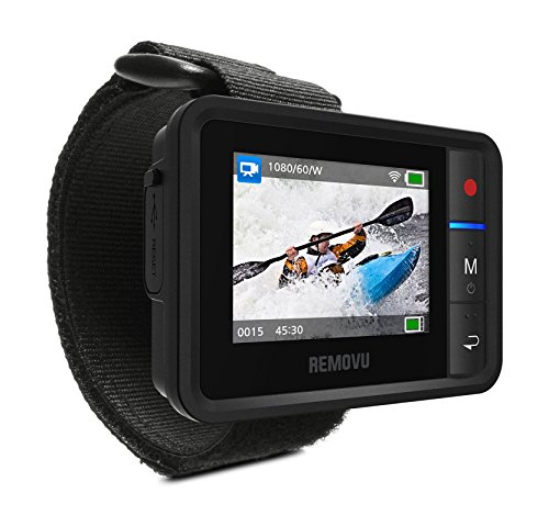 - Removu REMOVU R1+ (Plus) Waterproof (IPX7) Wireless Remote Viewer and Controller for GoPro