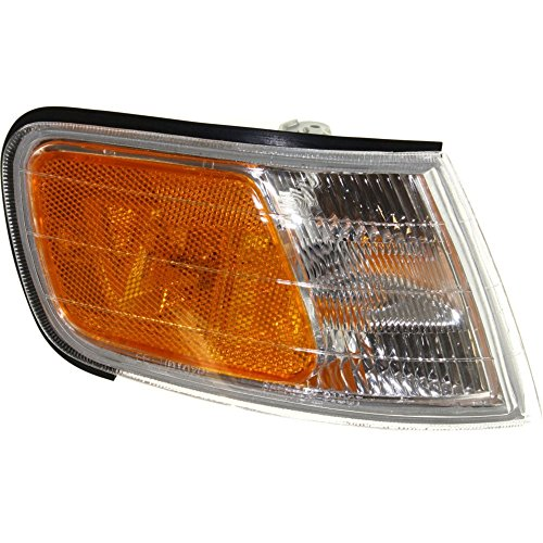 Evan-Fischer EVA20572013364 Corner Light for Honda Accord 94-97 Corner Lamp RH Assembly Park/Side Marker Lamp Right Side - Honda Accord Corner Lens