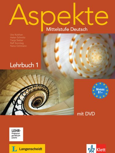 Aspekte neu b2: textbook + dvd | klett usa.