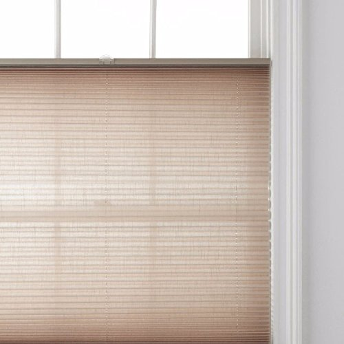 """Price comparison product image JCPenney Home Decorative Top-Down / Bottom-Up Cordless Cellular Shade (23"""" X 64"""",  Camel)"""