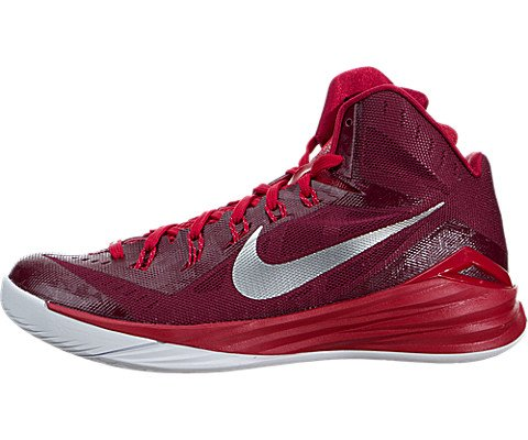 a55d1561e901 Nike Mens Hyperdunk 2014 TB Baskeall Shoes Gym Red Bright Crimson White  653483-606 Size 8.5 - Buy Online in Oman.