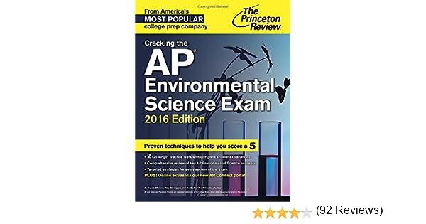 Amazon.com: Cracking the AP Environmental Science Exam, 2016 ...