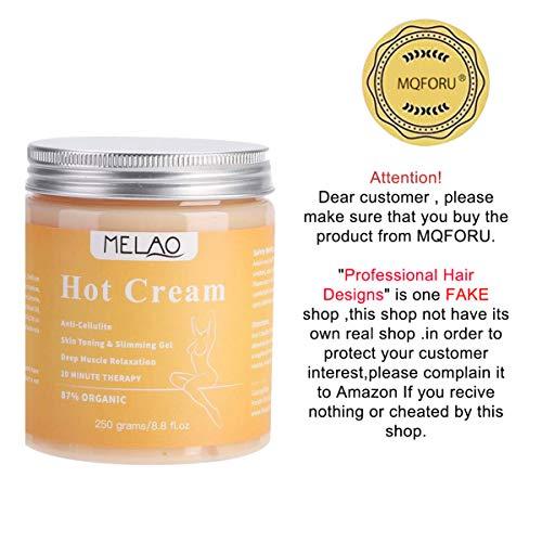Cellulite Cream - 250g Body Slimming Firming Cream Fat Burner Hot Cream for Tightening Skin Body Shaper