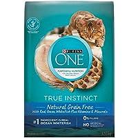 Purina ONE True Instinct Grain Free Natural Dry Cat Food; Ocean Whitefish Formula - 6.53 kg Bag