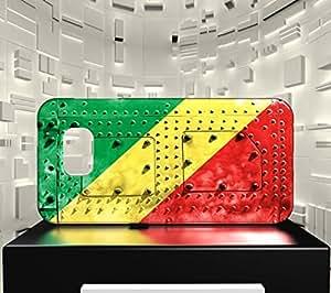 Funda Carcasa para Galaxy S7 Bandera REPÚBLICA DEL CONGO 06