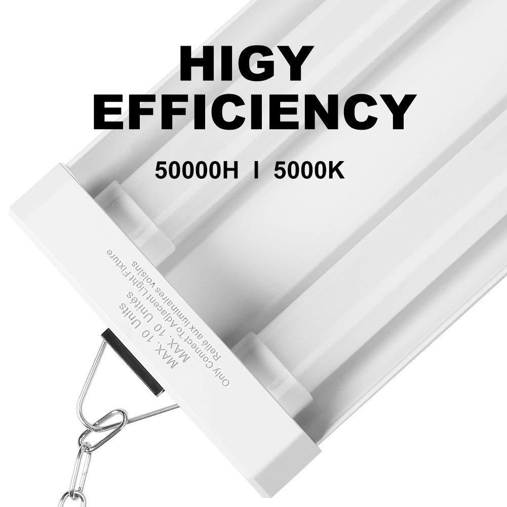 42W Linkable LED Shop Light for Garage BBOUNDER 4FT 5000K LED Work Shop Light LED Utility Shop Light Ceiling Fixture (12 Pack) by BBOUNDER (Image #4)
