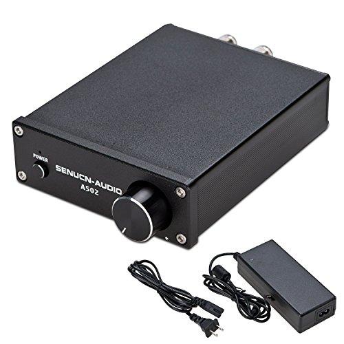 SENUCN-AUDIO A502 Desktop Amplifier 2 Channel 50W x 2 Class