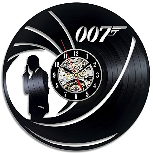James Bond 007 Gift Vinyl Wall Art Modern Home Room Record