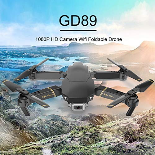 ASfairy RC Drone with 1080P HD Cameras Foldable FPV WiFi RC Quadcopter...