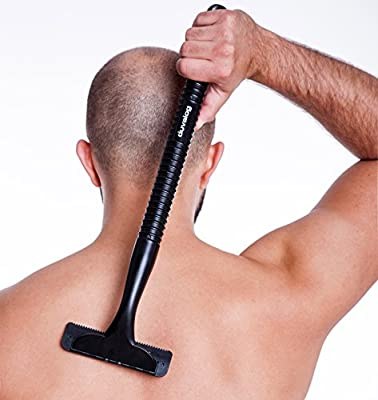 Afeitadora de espalda de primera calidad, con 2 cuchillas de ...