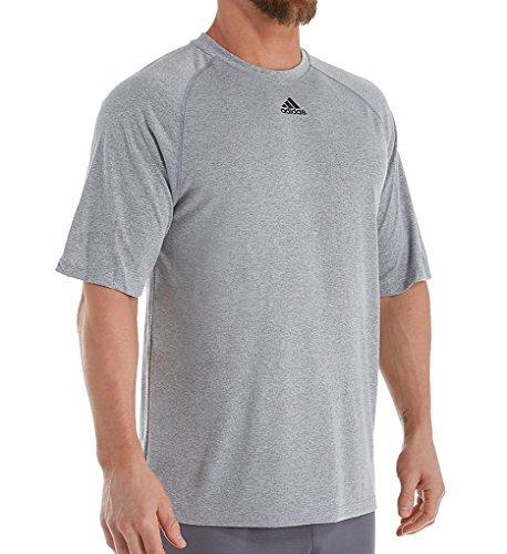 - Adidas Men's Adult Performance Climalite Tee T-Shirt Wicking Sport (Gray XL)