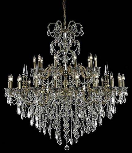 (Elegant 9730G53FG/EC Athena Foyer in French Gold)