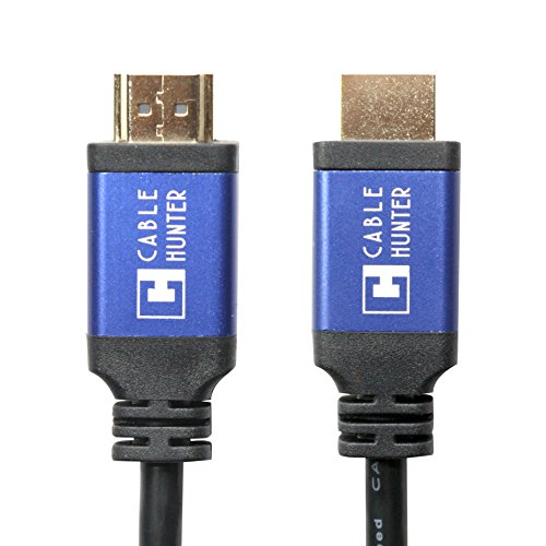 Cable Hunter™(1.8 Meter) Pure Copper 2.0 (4K) Ready 18bps Gold Plated Ethernet HDMI To HDMI Cable – 2 Years Warranty