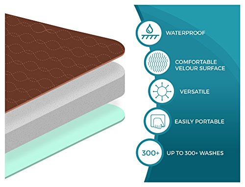 Americare-Absorbent-Washable-Waterproof-Seat-Protector-Pads-21x22-BROWN