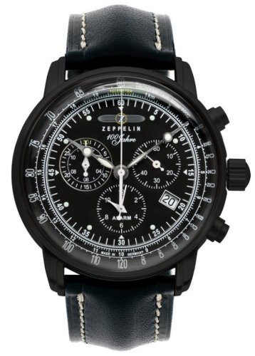 Zeppelin Chronograph/ Alarm Watch 7678-2