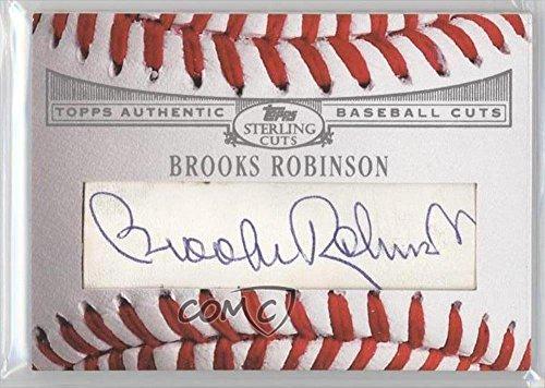 Brooks Robinson (Baseball Card) 2006 Topps Sterling - Baseball Cuts (2006 Topps Sterling Baseball)