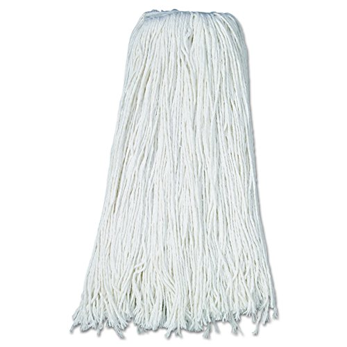 Boardwalk UNS 232R BWK232R Mop Head, Premium Standard Head, Rayon Fiber, 32 oz., White (Pack of 12) by Boardwalk