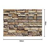 Self-Adhesive 3D Wall Paper Background Wall SA-1007 Simulation Vein Rock Stone Pattern Brick Wallpaper Restaurant Decoration Wall Stickers