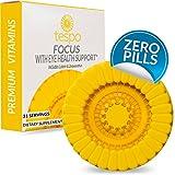 Cheap Focus with Eye Health Support Pod | Zero Sugar | No Caffeine | Protective Antioxidant Against Harmful Blue Light | Vitamin B12, Taurine, Ginseng | 31 Liquid Servings per Pod
