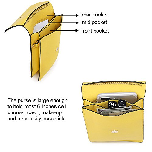 Phone Crossbody Pouch Wallet Cell for Lemon Mini Samsung Purse Plus 8 for Women Girls IPhone teens X S8 Bag 7 Phone Pxn1qwn