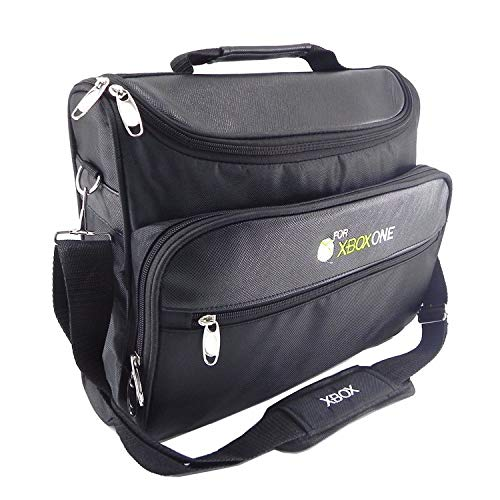 - UbiGear Travel Carry Case Bag for Microsoft Ms Xbox 360 Console Shoulder Carrying Black