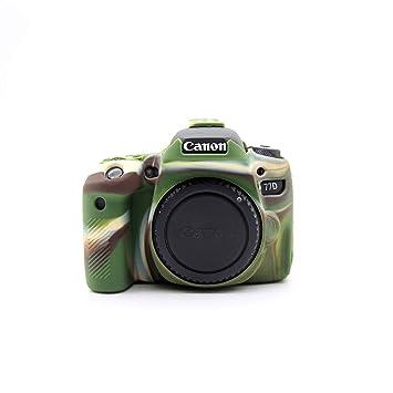 Zakao - Funda para cámara Digital Canon EOS 77D (Silicona, Ligera ...