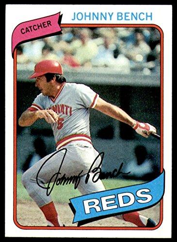 1980 Topps #100 Johnny Bench Near Mint+ Reds