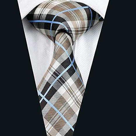 XKZYY Corbatas para Hombres Corbata pañuelo Gemelos Conjuntos con ...