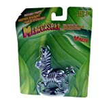 ": 4"" Madagascar Marty Poseable Jungle Adventure Figure"