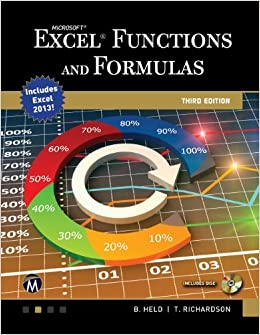 Book Microsoft Excel Functions and Formulas (Computer Science) by Bernd Held (2014-11-20)