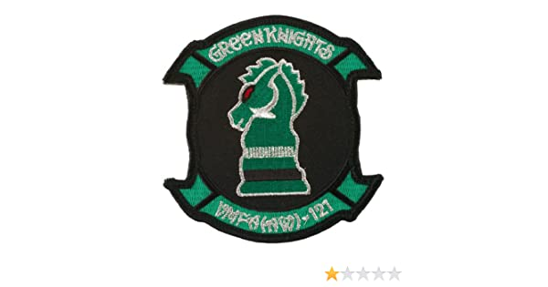VMFA 121 Green Knights W01S50C Assorted Marine Patches