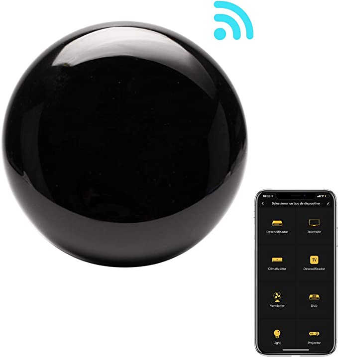 Control Remoto IR Universal Inteligente WiFi Si Smart, Mando a Distancia inalámbrico para Smart TV, televisores, Aire acondicionados y Mucho más. Infrarrojo. Compatible con Alexa y Google Home.: Amazon.es: Electrónica