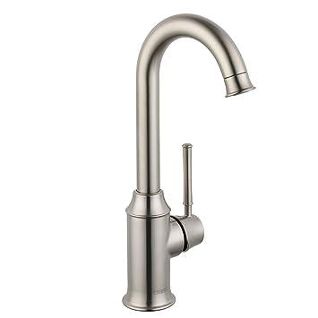 Hansgrohe 04217800 Talis C Bar Faucet, Steel Optik - Bar Sink ...